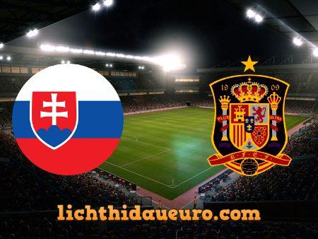 Soi kèo Slovakia vs Tây Ban Nha, 23h00 ngày 23/06/2021