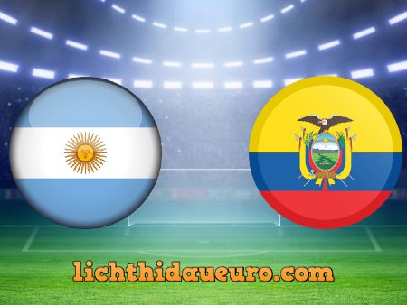 Soi kèo Argentina vs Ecuador, 08h00 ngày 04/07/2021