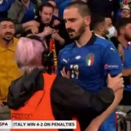 Trung vệ Italia bị tóm sau khi đá luân lưu với Tây Ban Nha